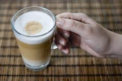 Macchiato de Latte Imagenes de archivo
