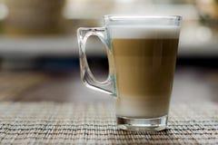 Macchiato de Latte Fotografía de archivo