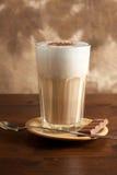Macchiato de Latte Imagen de archivo