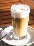Macchiato de Latte Fotos de Stock