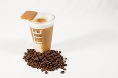 Macchiato 03 do Latte Foto de Stock