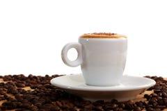macchiato espresso κακάου Στοκ Φωτογραφίες