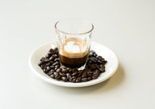 Macchiato Royalty Free Stock Photo