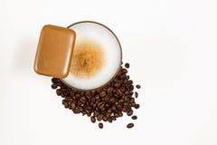 Macchiato 02 Latte Στοκ Εικόνες