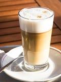Macchiato van Latte Stock Foto's