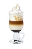 Macchiatto di Latte Fotografie Stock Libere da Diritti