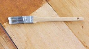 Macchiatura del cedro Fotografie Stock