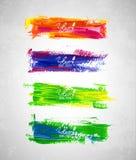 Macchie dell'acquerello Fotografie Stock Libere da Diritti