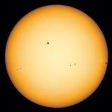 Macchie solari Fotografie Stock