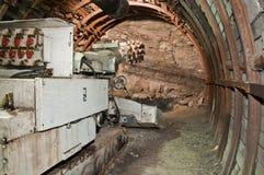Macchina d'estrazione nella miniera di carbone Fotografia Stock