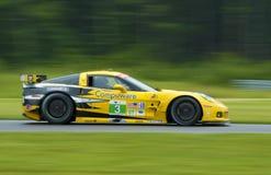 Macchina da corsa del Corvette Fotografie Stock Libere da Diritti