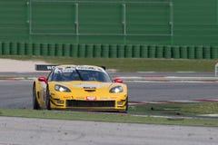 MACCHINA DA CORSA della corvetta Z06 GT3 Immagini Stock