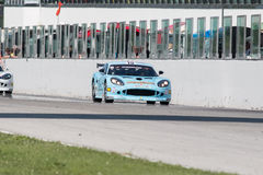 MACCHINA DA CORSA della TAZZA GT4 di Ginetta G50 Immagine Stock Libera da Diritti