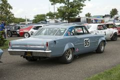Macchina da corsa di Chevy Immagine Stock