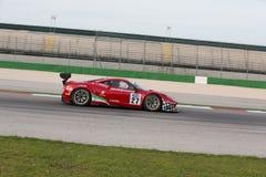 MACCHINA DA CORSA DI FERRARI 458 ITALIA GT3 Immagini Stock