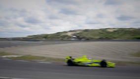 Macchina da corsa di formula 1 video d archivio