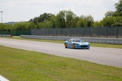 MACCHINA DA CORSA di Ginetta G50 GT4 Immagini Stock