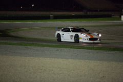 MACCHINA DA CORSA di Ginetta G50 GT4 Immagine Stock Libera da Diritti