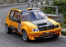 Macchina da corsa di gti di Peugeot 205 Immagini Stock