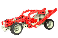 Macchina da corsa di Lego Fotografie Stock