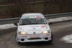 Macchina da corsa di Peugeot 106 Fotografia Stock Libera da Diritti