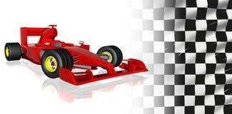 Macchina da corsa F1 Fotografia Stock