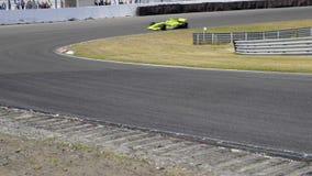 Macchina da corsa F1 stock footage