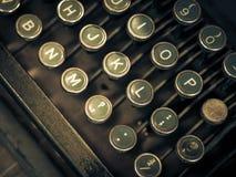 Macchina da scrivere antica immagini stock