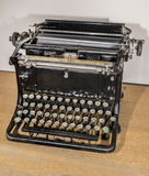Macchina da scrivere manuale, gli anni 20 Immagini Stock Libere da Diritti