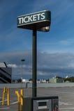 Macchina del biglietto di parcheggio Fotografia Stock