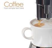 Macchina del caffè Fotografie Stock Libere da Diritti
