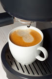 Macchina del caffè Fotografia Stock