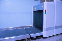 Macchina del controllo di sicurezza del bagaglio dei raggi x Immagine Stock