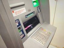 Macchina del deposito in contanti Fotografie Stock
