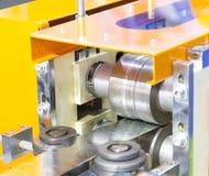 Macchina del laminatoio per il rotolamento della lamiera di acciaio Immagine Stock Libera da Diritti