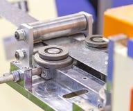 Macchina del laminatoio per il rotolamento della lamiera di acciaio Fotografia Stock Libera da Diritti