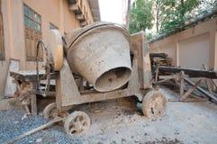 Macchina del miscelatore di cementi Fotografie Stock