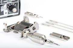 Macchina del tatuaggio (pistola) Fotografia Stock