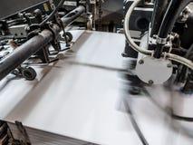 Macchina del torchio tipografico fotografia stock