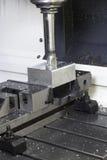 Macchina del tornio di CNC Fotografia Stock