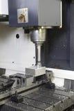 Macchina del tornio di CNC Fotografie Stock
