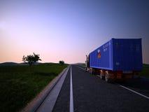 Macchina del trasporto Fotografia Stock Libera da Diritti