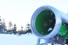 Macchina del ventilatore di neve Fotografia Stock