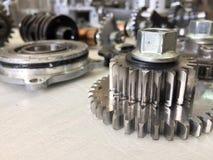 Macchina dell'ingranaggio del metallo Fotografia Stock Libera da Diritti