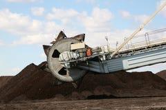 Macchina dell'uscita di carbone Immagini Stock