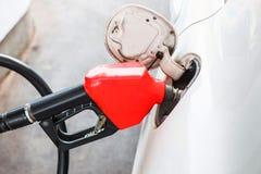 Macchina della benzina della pompa dell'iniettore Immagini Stock