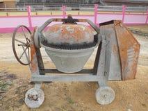 Macchina della betoniera Immagine Stock Libera da Diritti