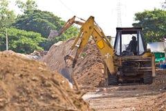 Macchina della costruzione Fotografie Stock