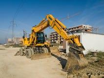 Macchina della costruzione Fotografia Stock