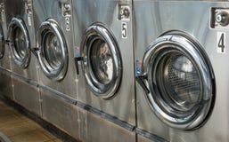 Macchina della lavanderia Fotografie Stock Libere da Diritti